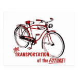 The Transportation of the Future Postcard