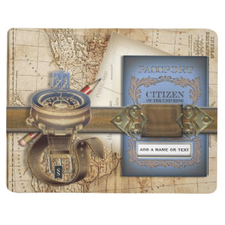 The Traveler Funny Personalized Passport Journals