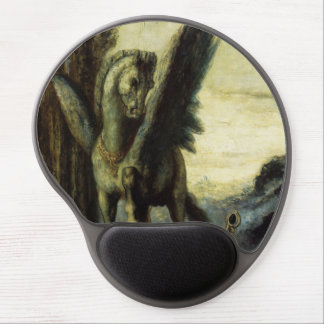 The Traveler Poet by Gustave Moreau Gel Mousepads