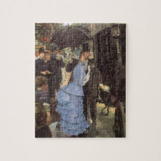 The Traveller (aka Bridesmaid) by James Tissot Jigsaw Puzzle