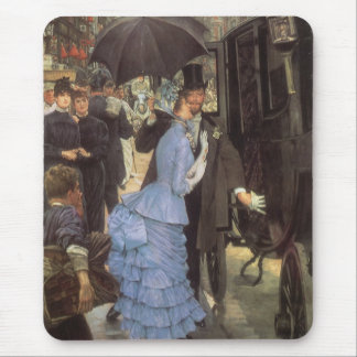 The Traveller (aka Bridesmaid) by James Tissot Mouse Pad