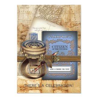 "The Traveller Medium Party Invitations 4.5"" X 6.25"" Invitation Card"