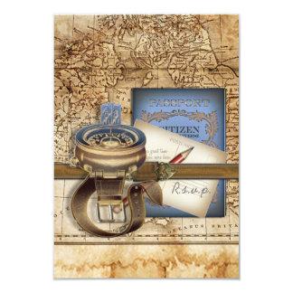 The Traveller RSVP Cards