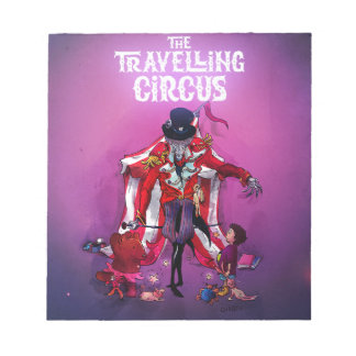 The Travelling Circus Notepad