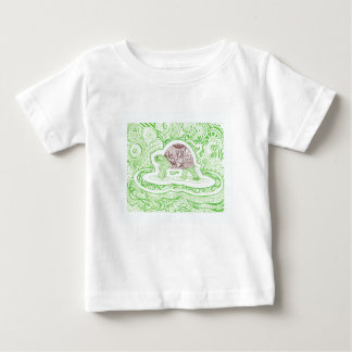 The Travelling Tortoise Baby T-Shirt