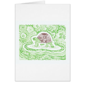 The Travelling Tortoise Card