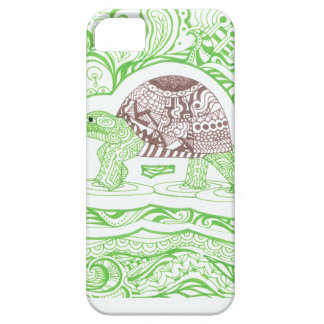 The Travelling Tortoise iPhone 5 Cover