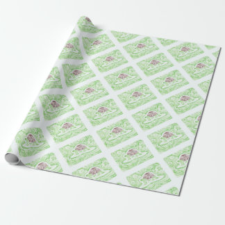 The Travelling Tortoise Wrapping Paper