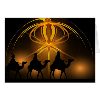 The Travelling Wise Men Card