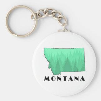 The Treasure State Key Ring