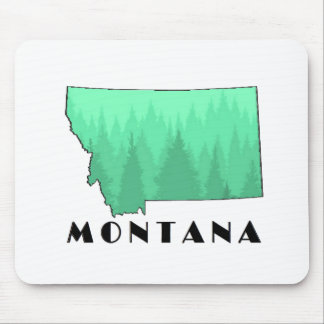 The Treasure State Mouse Pad