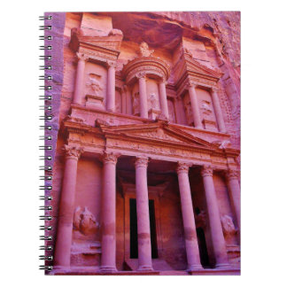 The Treasury at Petra Spiral Notebooks