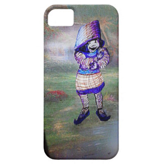 the tree elf that built her house in the forest iPhone 5 cover