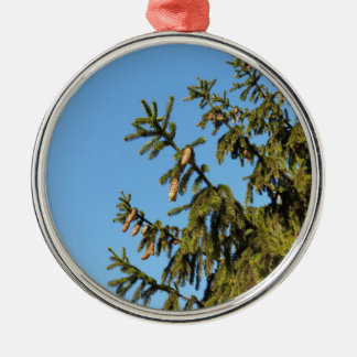 The Tree for Christmas Metal Ornament