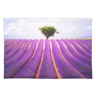 The tree in the lavender placemat