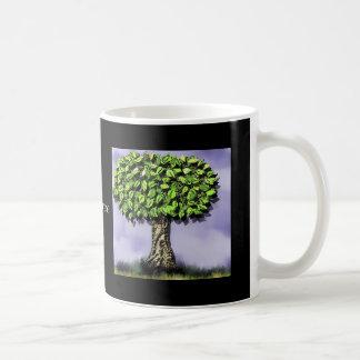 The tree classic white coffee mug