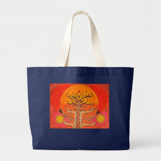 The Tree of Daydreams Large Tote Bag