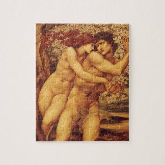 The Tree of Forgiveness by Burne Jones Jigsaw Puzzle