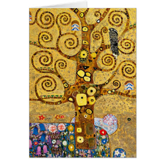 """The Tree of Life"" and Gustav Klimt Card"