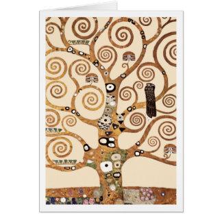 The Tree of Life by Gustav Klimt Card