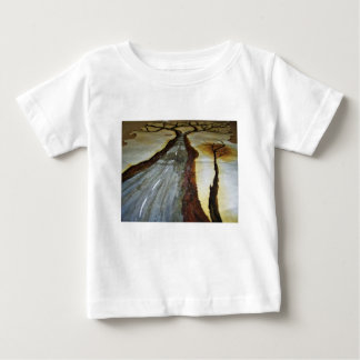 The Tree of Life with the Road that Forks3-Down th Baby T-Shirt