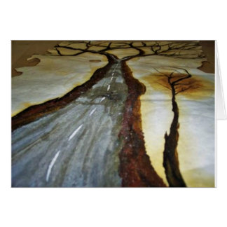 The Tree of Life with the Road that Forks3-Down th Card