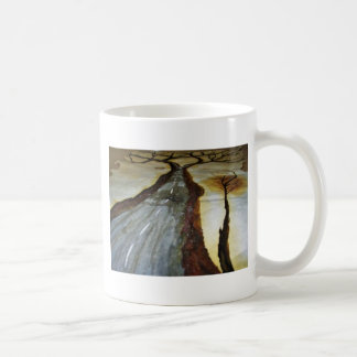 The Tree of Life with the Road that Forks3-Down th Coffee Mug