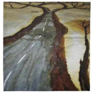 The Tree of Life with the Road that Forks3-Down th Napkin