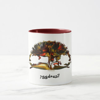 The Tree of Life * Yggdrasil * Mug