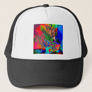 The tree of love makes our rainbow trucker hat