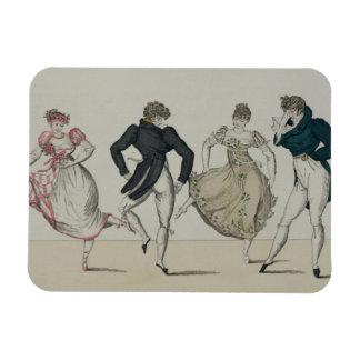The 'Trenis' Quadrille, plate 19 from 'Le Bon Genr Magnet