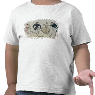 The 'Trenis' Quadrille, plate 19 from 'Le Bon Genr T-shirt