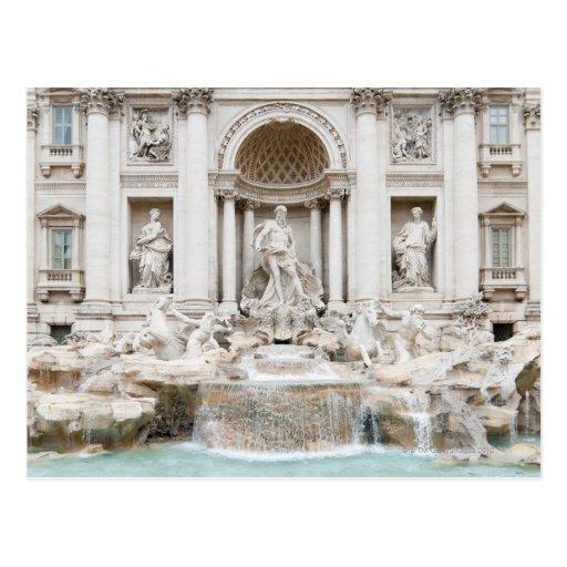 The Trevi Fountain (Italian: Fontana di Trevi) Post Cards