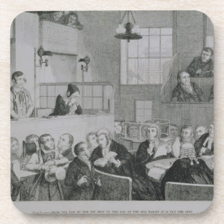 The Trial at the Old Bailey, plate 5 of 'The Drunk Coasters