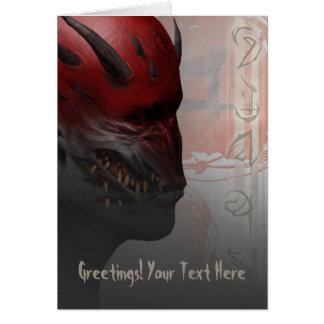 The Trigsh Greeting Card