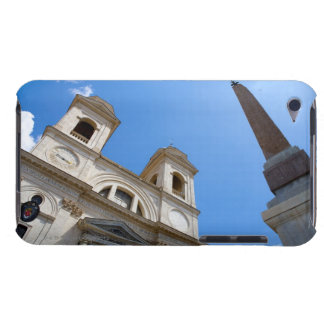The Trinita dei Monti church in Rome, Italy is Barely There iPod Cases