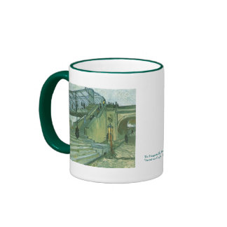 The Trinquetaille Bridge by Vincent van Gogh Coffee Mugs