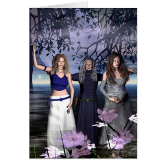 The Triple Goddess Card