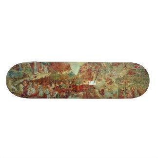 The Triumph of Death by Buonamico Buffalmacco Custom Skate Board