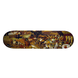The Triumph of Death by Pieter Bruegel the Elder 20.6 Cm Skateboard Deck