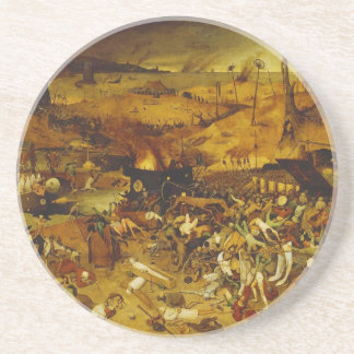 The Triumph of Death by Pieter Bruegel the Elder Coaster