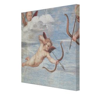The Triumph of Galatea Canvas Print