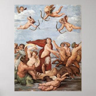 The Triumph of Galatea Poster