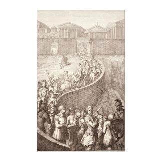 The Triumph of Quintus Fabius Canvas Print