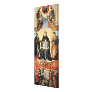 The Triumph of St. Thomas Aquinas Canvas Print