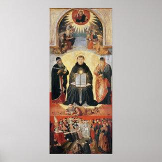 The Triumph of St. Thomas Aquinas Poster