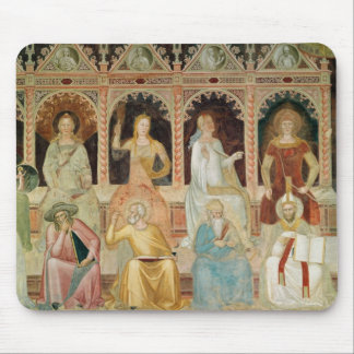 The Triumph of the Catholic Doctrine Mouse Pad