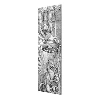 The Triumphal Arch of Emperor Maximilian I Canvas Print