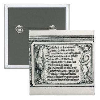 The Triumphal Arch Pinback Button