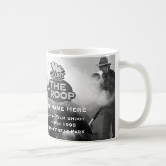 The Troop Clapper Art with your name - 11 oz Mug